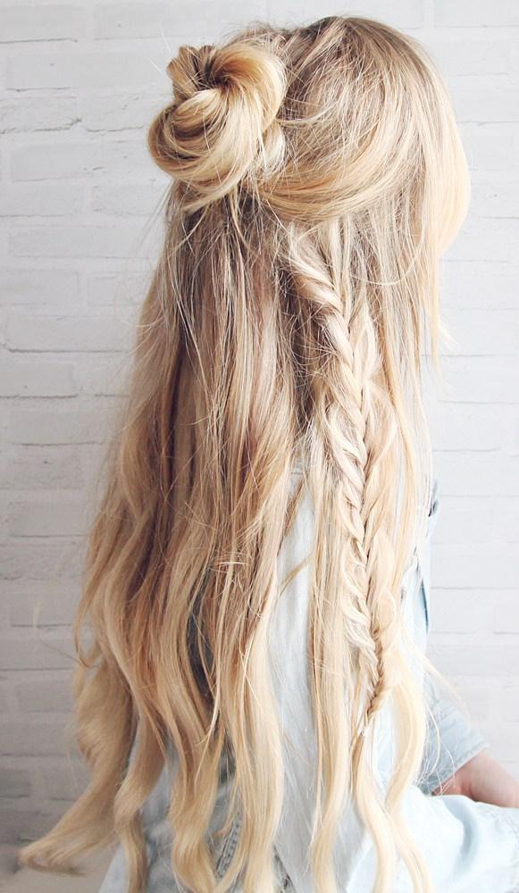 Κομμωτήριο Καλαμάτα - Κούρεμα - Kartsona Coiffure - SS17 Hair Trends -hair bun boho